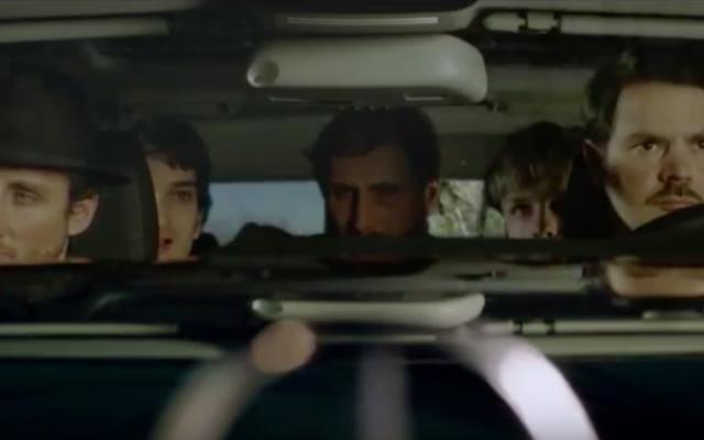 Capture d'écran de la bande annonce du film « Un juif pour l'exemple » (Crédit : YouTube)