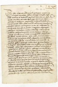 L'une des deux copies connues du décret d'Alhambra, qui ordonne la conversion ou l'expulsion des juifs, à Grenade, en Espagne, le 31 mars 1492. (Crédit : autorisation)