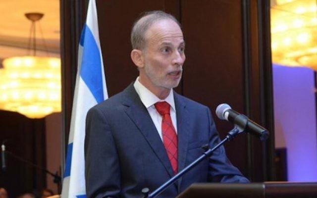 Ehud Eitam, ambassadeur d'Israël au Pérou. (Crédit : ambassade du Pérou)