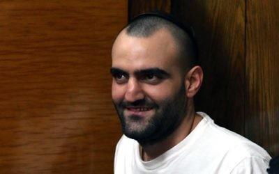 Hagai Felician, l'homme qui avait été suspecté d'être l'auteur de la fusillade en 2009 au bar Noar, à Tel Aviv. (Crédit : Flash90)