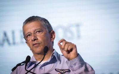 Amir Eshel, à Jérusalem, le 18 novembre 2015. (Crédit : Miriam Alster/Flash90)