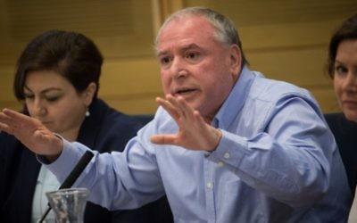David Amsalem, député du Likud à la Knesset, le 28 juin 2016. (Crédit : Hadas Parush/Flash90)