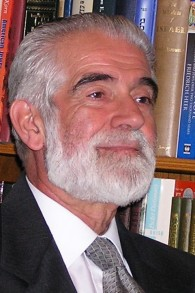 L'ancien Grand Rabbin, Cyril Harris, à Johannesburg en 2006 (Crédit : Autorisation)