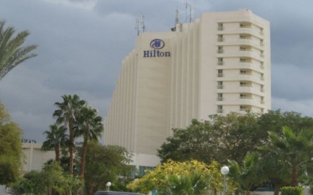 L'hôtel Hilton de Taba, reconstruit après l'attentat de 2004. (Crédit : NYC2TLV/Wikipedia)