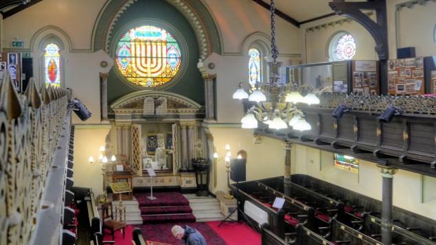 Le musée juif de Manchester. (Crédit : David Dixon/CC)