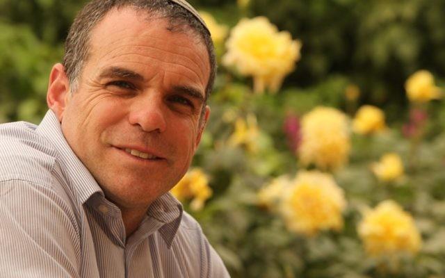Le maire d'Efrat, Oded Revivi. (Avi Hyman Communications)