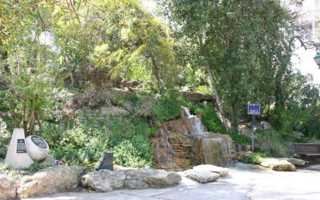 Le parc de Givat Hill porte le nom du général britannique qui a chassé les Turcs de la ville dans la Première Guerre mondiale (Photo: Shmuel Bar-Am)