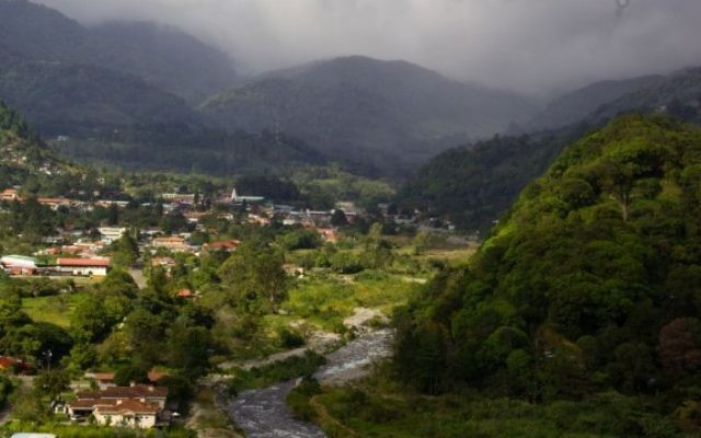 Une ville de la province de Chiriqui, au Panama. Illustration. (Crédit : CC-BY SA Ayaita/Wikipedia)