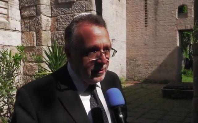 Andras Heisler (Crédit: Capture d'écran YouTube)