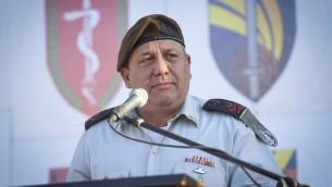 Le chef d'état-major de l'armée israélienne Gadi Eizenkot, le 13 juillet 2016 (Photo:  porte-parolede Tsahal)