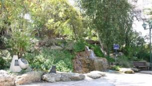 Le parc Givat Hill est nommé d'apres le général britannique qui a chassé les Turcs de la ville durant la Première Guerre mondiale (Photo: Shmuel Bar-Am)