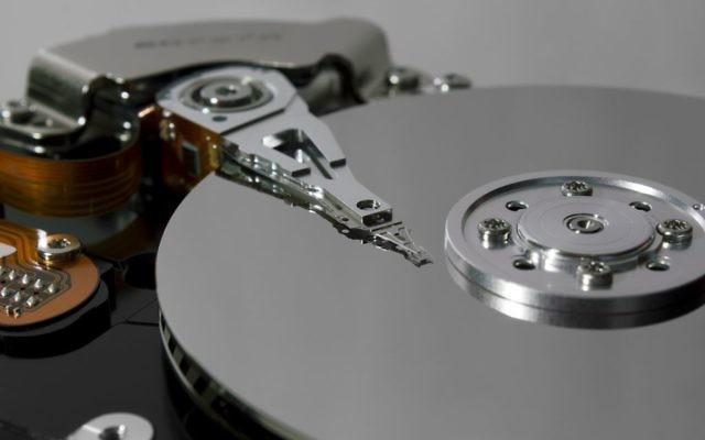 Un disque dur (Crédit : Pixabay)