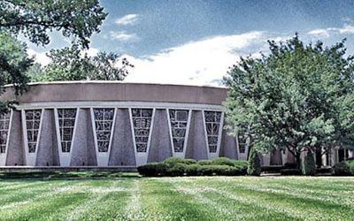 La synagogue conservatrice de la congrégation Keneseth Israel, à Louisville, dans le Kentucky, aux Etats-Unis. (Crédit : capture d'écran kenesethisrael.com)