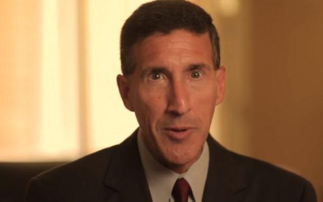 David Kustoff, candidat républicain au Congrès pour le 8e district du Tennessee. (Crédit : capture d'écran YouTube)