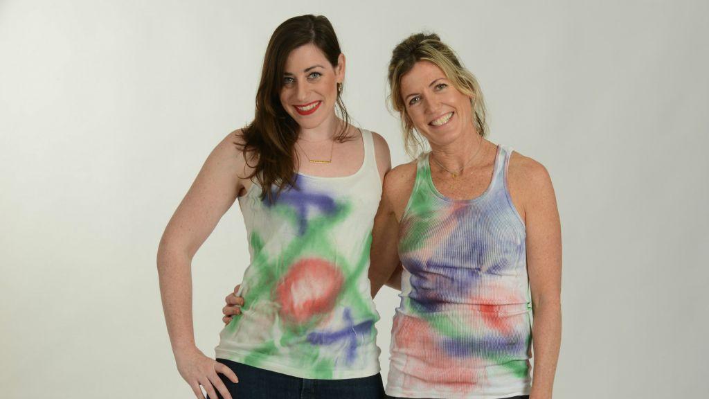 Keren Berler (à gauche) et Nathalie Half de Museloop (Crédit : Autorisation)