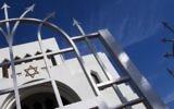 La synagogue Kadoorie Mekor Haim de Porto au Portugal le 2 septembre 2016. (Crédit  : AFP/Miguel Riopa)