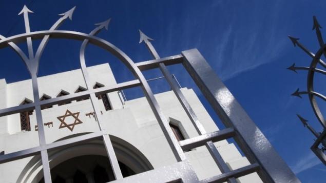 La synagogue Kadoorie Mekor Haim de Porto, le 2 septembre 2016. (Crédit  : AFP/Miguel Riopa)