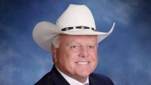 Le commissaire à l'agriculture du Texas, Sid Miller. (Crédit : Facebook)