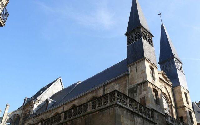 L'église Saint-Leu, dans le premier arrondissement de Paris. (Crédit : Peter Potrowl - Travail personnel/CC BY 3.0/WikiCommons