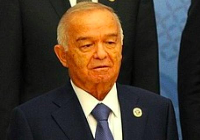 Islam Karimov, ancien président ouzbek, pendant la réunion de l'Organisation de coopération de Shanghai à Tachkent, le 24 juin 2016. (Crédit : CC BY 4.0 Kremlin.ru/Wikipedia)