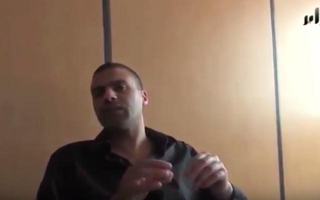 Khalid Geddar (Crédit : capture d'écran YouTube)