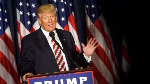 Donald Trump à Philadelphie, en Pennsylvanie, le 7 septembre 2016. (Crédit : Mark Makela/Getty Images)