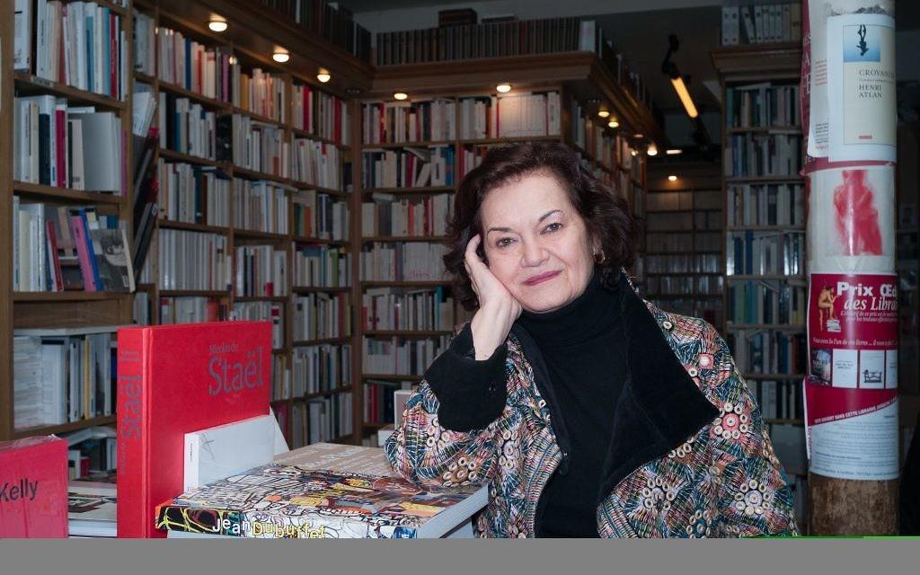 Elisabeth Roudinesco (Crédit : Luc Fachetti)