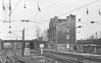 La gare de Bobigny en 1984. (Crédit : Wikipédia)