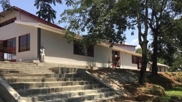 La nouvelle synagogue à Nabagoye, en Ouganda (autorisation de Be'chol Lashon, via JTA).