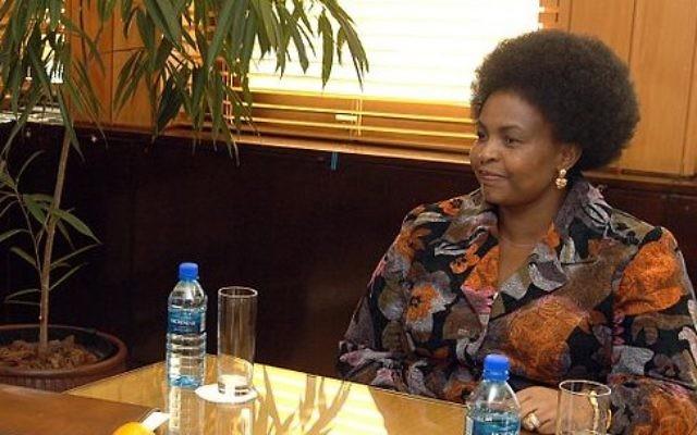La ministre des Relations internationales sud-africaine Maite Nkoana-Mashabane (Crédit : US Department of State / Wikimedia Commons)