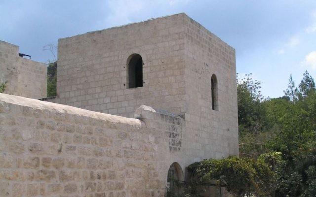 L'auberge de Shaar Hagai (Crédit : CC-BY-3.0 Bukvoed/Wikipedia)