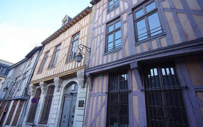 Synagogue de Troyes (Crédit : Wikipédia)