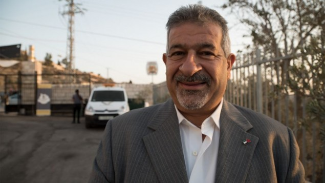 Daoud Khoury, cofondateur de la brasserie Taybeh, le 25 septembre 2016. (Crédit : Luke Tress/Times of Israel)