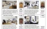 Annonces Airbnb utilisées dans l'étude (Crédit : autorisation)