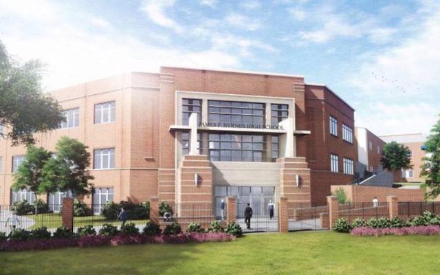 Le lycée James Byrne du comté de Spartanburg, en Caroline du Sud, aux Etats-Unis. Illustration. (Crédit : Facebook via JTA)
