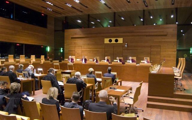 Une audience de la Cour de justice de l'Union européenne. (Cour de justice de l'Union européenne)