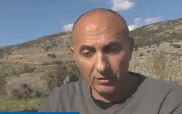 Le colonel (de réserve) Kobi Marom. (Crédit : capture d'écran YouTube)