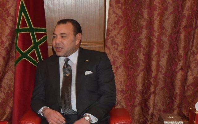 Mohammed VI, roi du Maroc, à l'ambassade marocaine aux Etats-Unis, à Washington, D.C., le 20 novembre 2013. (Crédit : département d'Etat des Etats-Unis)
