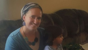 Manya Hillel, habitante d'Amona. (Crédit : Marissa Newman/Times of Israel)
