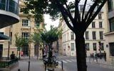La synagogue de la Victoire et le Consistoire, à Paris. (Crédit : Lisa Klug/ Times of Israel)