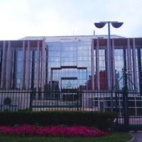 Le siège d'Interpol à Lyon, en France. (Crédit : Massimiliano Mariani/CC BY-SA/Wikipedia)