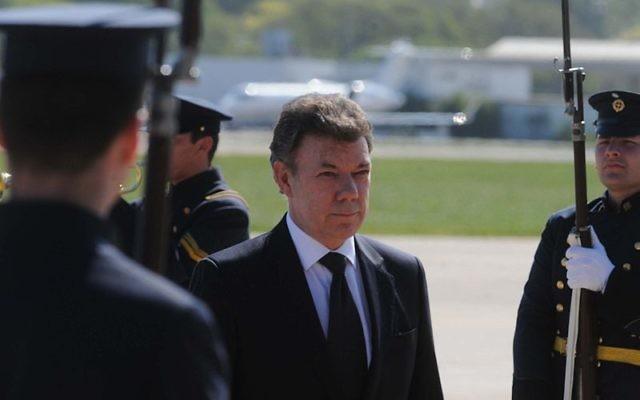 Juan Manuel Santos, président de Colombie. (Crédit : Agencia Brasil/CC BY SA 3.0)