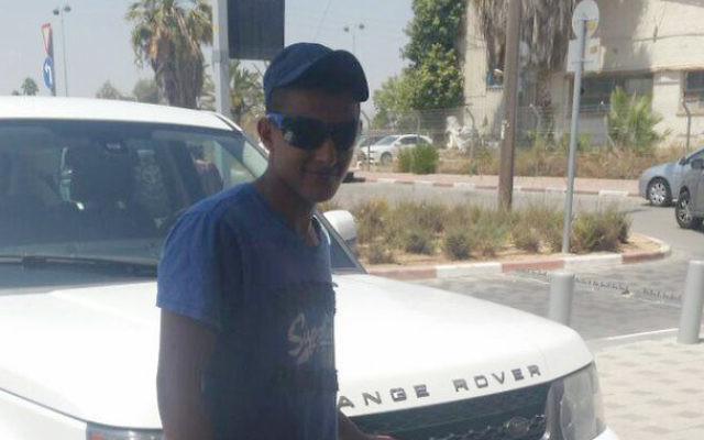 Nimer Bassem Abu Amar, bédouin israélien de 15 ans qui a été tué à la frontière égyptienne alors qu'il travaillait comme sous-traitant pour le ministère de la Défense le 25 octobre 2016. (Crédit : autorisation)