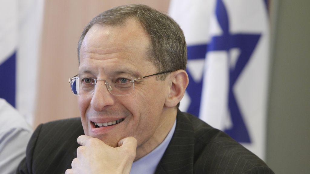 L'ancien chef du Conseil national économique d'Israël, le professeur Eugene Kandel (Crédit : Miriam Alster / Flash90)