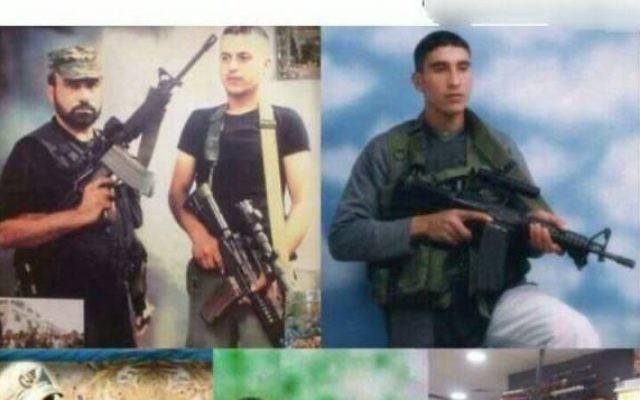 Un message sur le compte Facebook d'un Palestinien vivant à Nazareth Illit louant les actions des terroristes. (Crédit : Police israélienne)