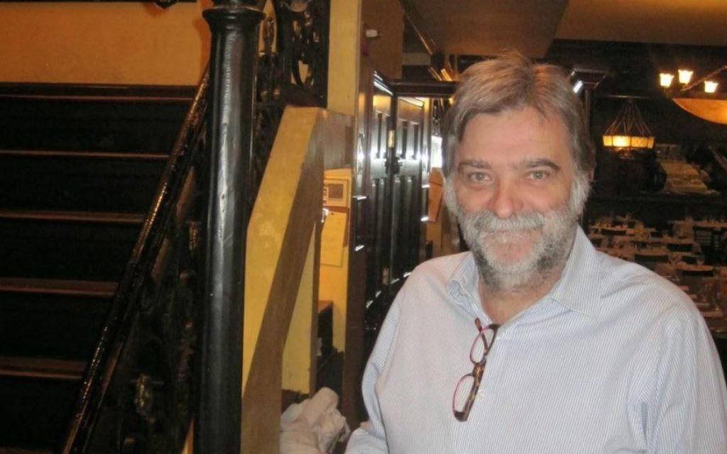 Jose Meirelles, propriétaire d'un restaurant casher de New York, Le Marais (Crédit : autorisation)
