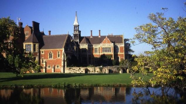 Madresfield Court, un manoir du 12e siècle situé dans le centre de l'Angleterre, était au coeur d'un projet pour empêcher l'enlèvement par les nazis de la famille royale pendant la Seconde Guerre mondiale. (Crédit : Trevor Rickard/CC BY-SA 2.0/Wikimedia Commons)