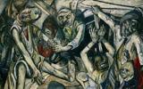 """""""La nuit"""" de Max Beckmann, 1918-1919, de Kunstsammlung Nordrhein-Westfalen, Düsseldorf. (Crédit : Wikipedia/domaine public)"""