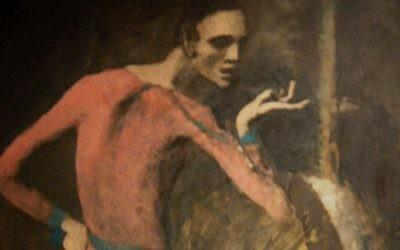 'L'Acteur', de Pablo Picasso. (Wikimedia)