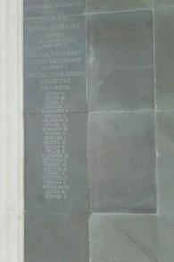 Le mémorial au cimetière de Brookwood, dans le Surrey, au sud-ouest de l'Angleterre (Crédit : autorisation)